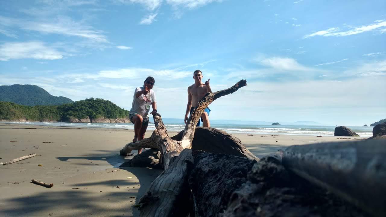 Conheça a Praia do Arpoador-Núcleo Arpoador em Peruíbe