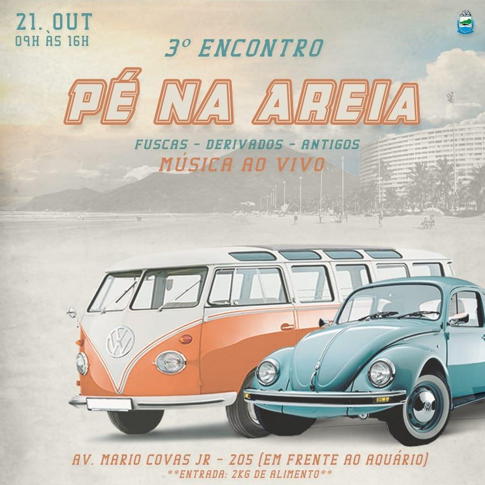 3º Encontro Pé na Areia em Peruíbe