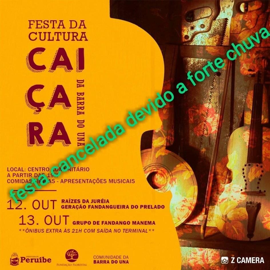 Festa da Cultura Caiçara da Barra do Una