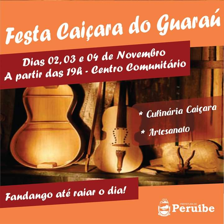 Primeira Festa do Fandango Caiçara do Guaraú