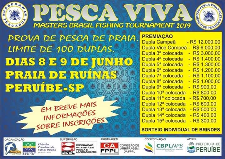 Pesca Viva 2019 em Peruíbe