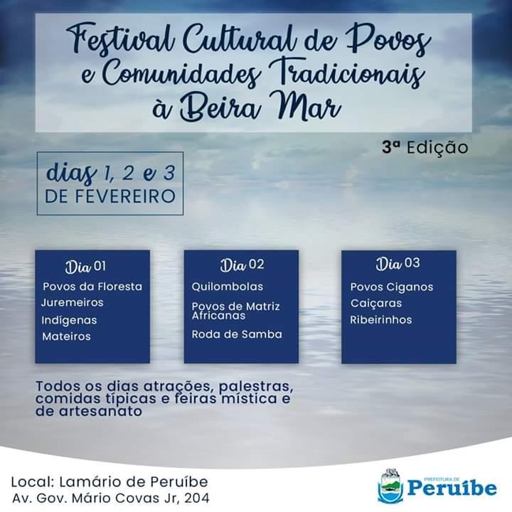 Festival Cultural de Povos e Comunidades Tradicionais à Beira Mar
