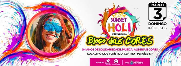 Carnaval 2019 Sunset Holi
