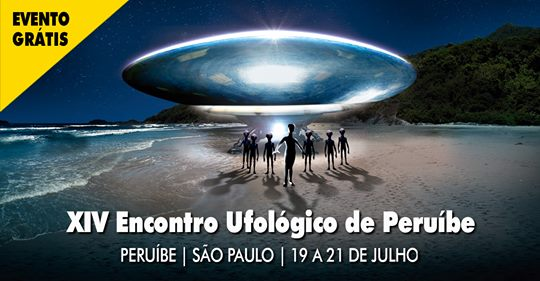 XIV ENCONTRO UFOLÓGICO DE PERUÍBE em Peruíbe