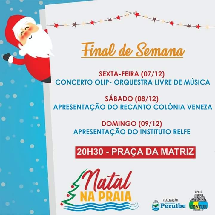 Natal na Praia 2018