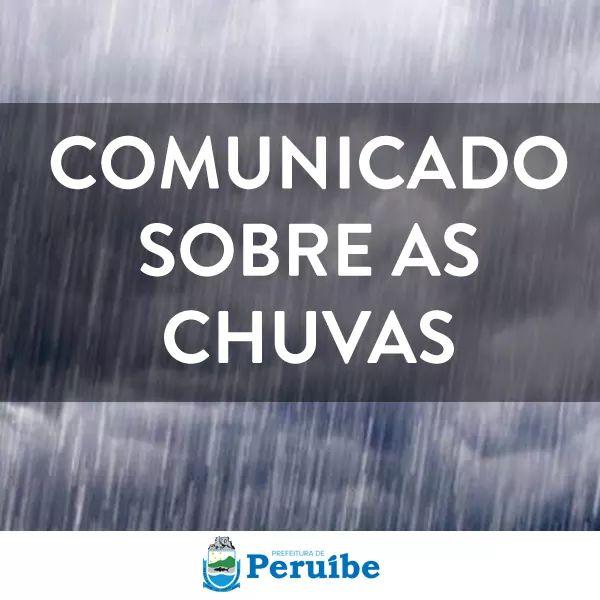 Chuva em Peruíbe
