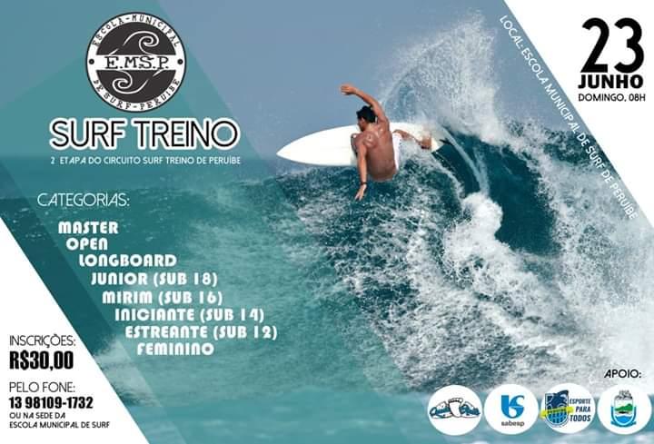 Queda Bruta Surf Treino