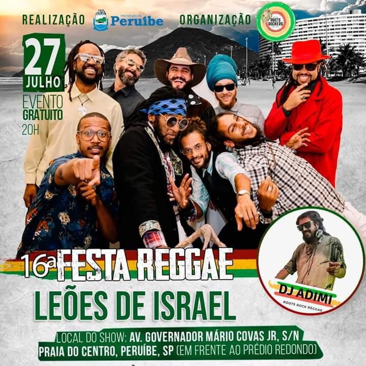Festa Reggae Leões de Israel
