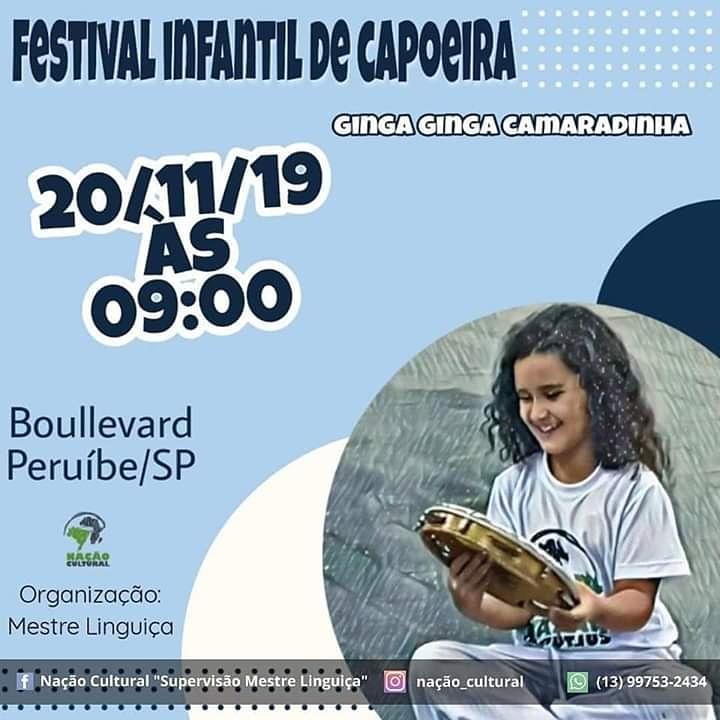 Festival Infantil de Capoeira