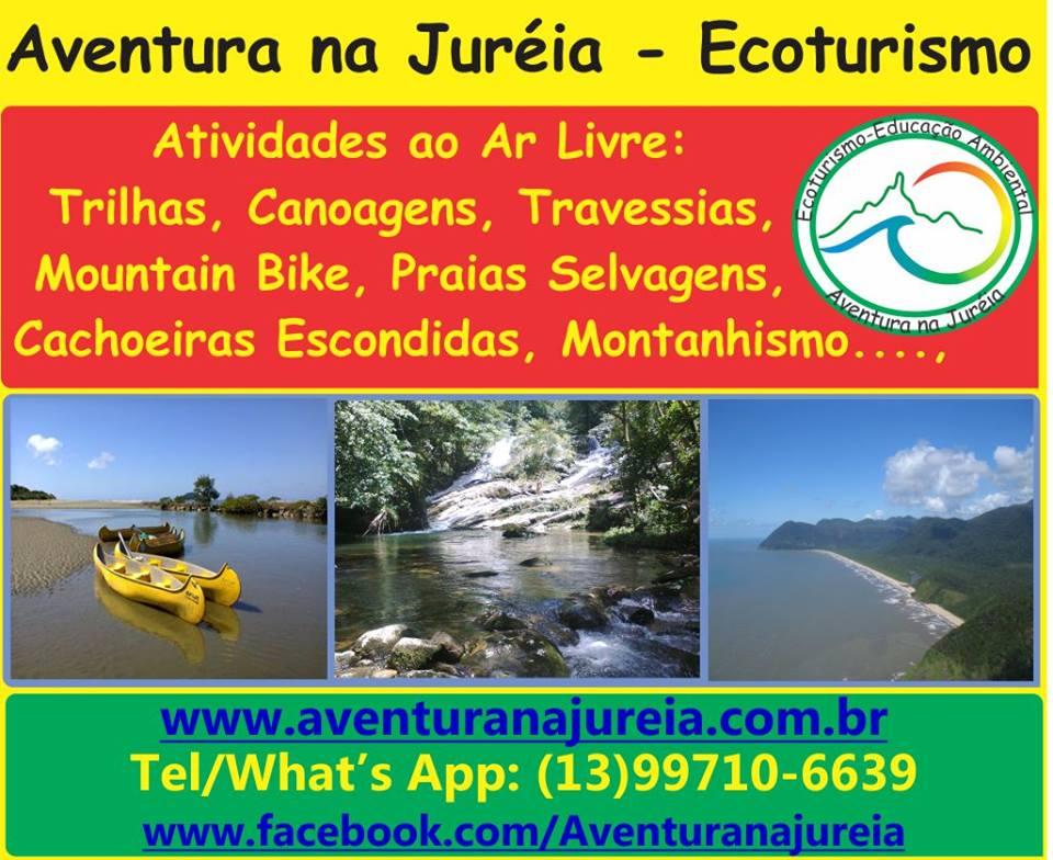 Aventura na Jureia - Edilaine